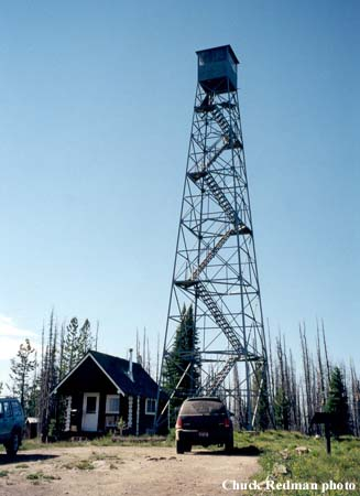 Carey Dome Fire Lookout Tower
