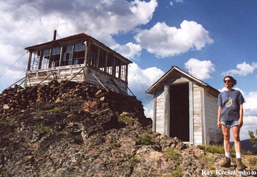 Granite Mtn Fire Lookout Cabin