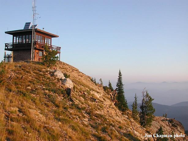 Photos courtesy the Fire Lookout Museum, Robert Evans, and Jim Chapman