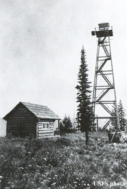 jack mtn fire lookout tower
