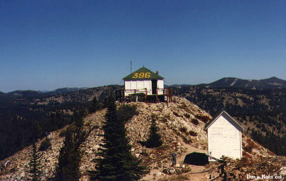 Morehead Mtn Fire Lookout Cabin