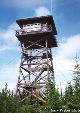 Osier Ridge Fire Lookout Tower