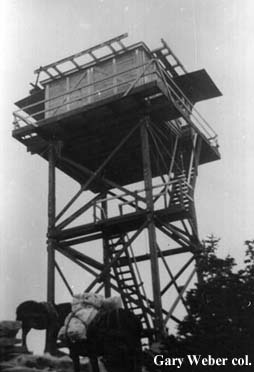 Roman Nose Fire Lookout Tower
