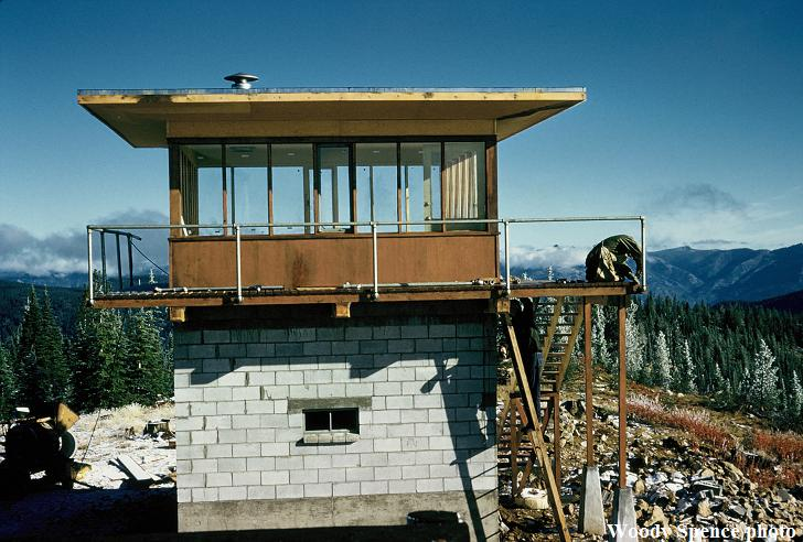 war eagle fire lookout tower