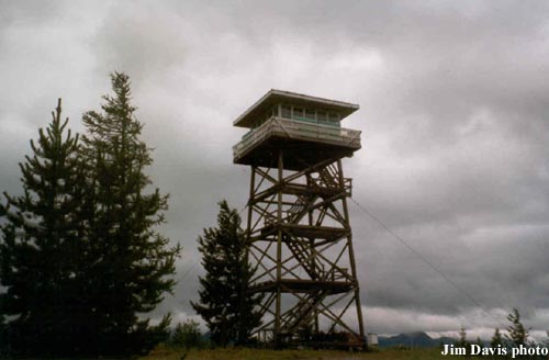 Firefighter Mtn Fire Lookout Tower