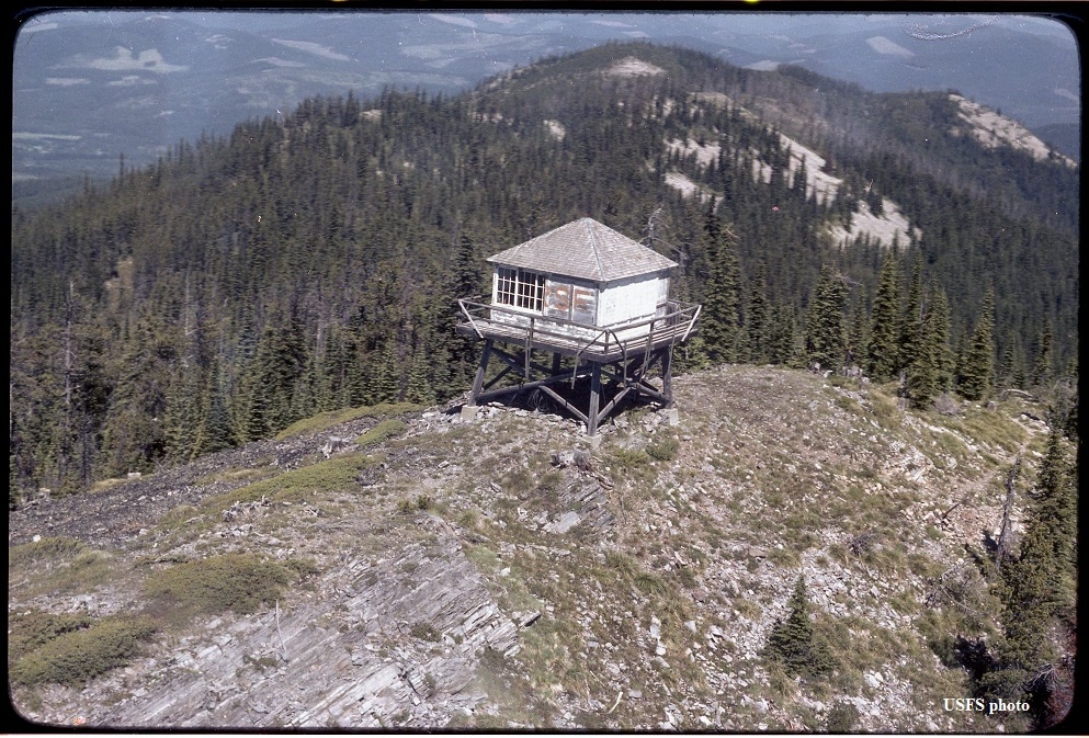 Lost Horse Fire Lookout Tower