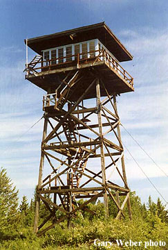 Lincoln Of Troy >> Yaak Mtn. Fire Lookout Tower