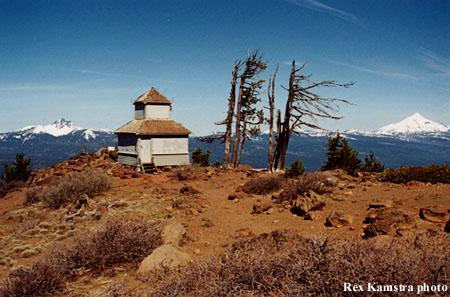 Black Butte Deschutes N F Fire Lookout Tower