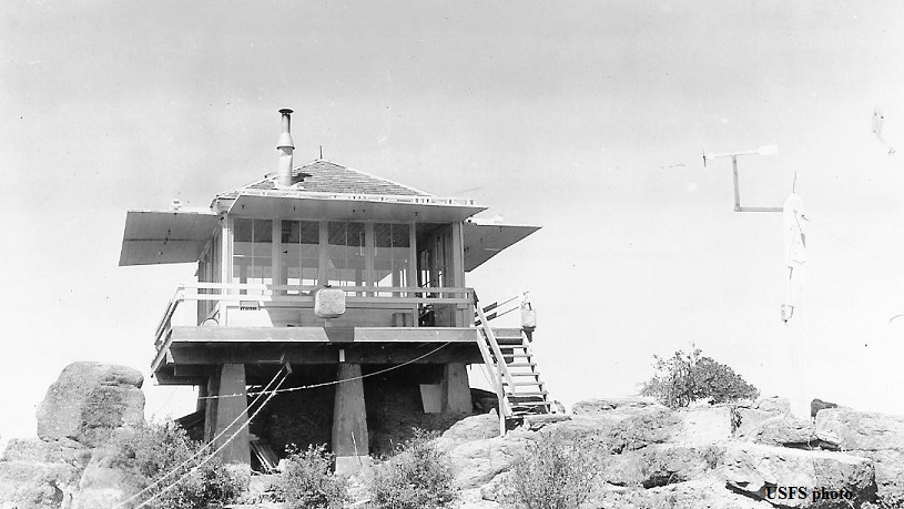 Diamond Rock Fire Lookout Cabin