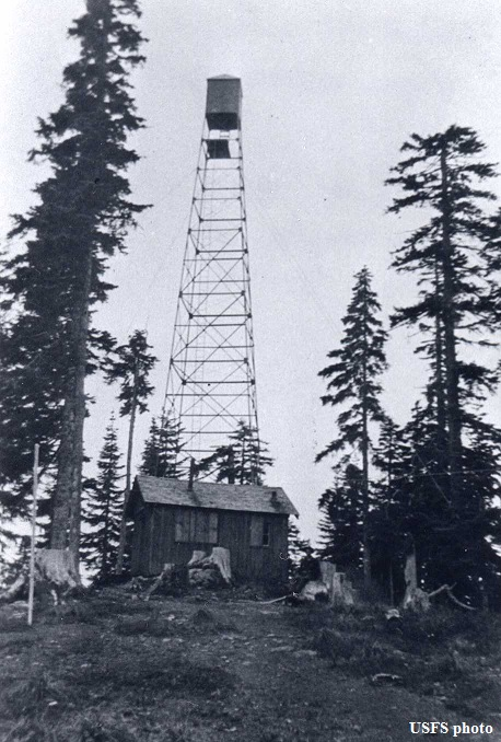 larch mtn fire lookout tower