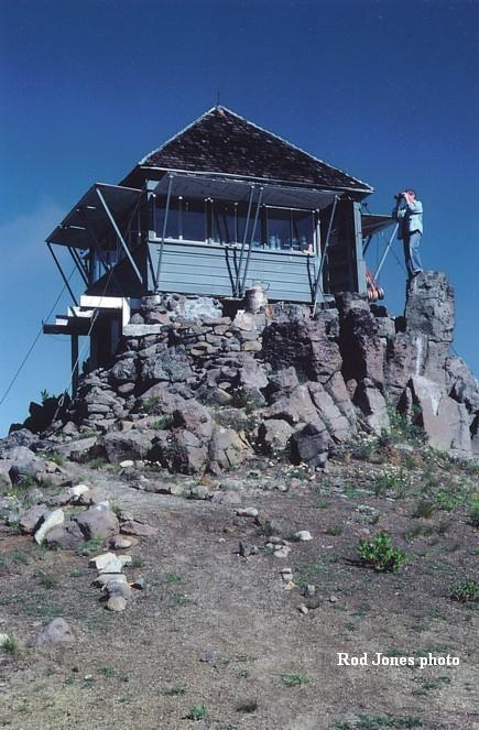 Mule Peak Fire Lookout Cabin