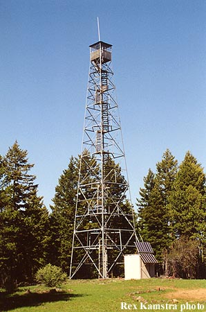 Tamarack Mtn Fire Lookout Tower