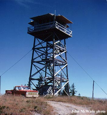 Wildhorse Fire Lookout Tower