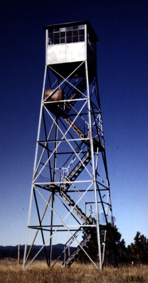 Palle solar for Lookout tower plans