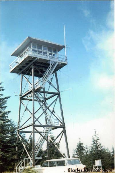 Baw Faw Boistfort Fire Lookout Tower