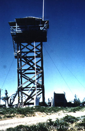 darland mtn fire lookout tower