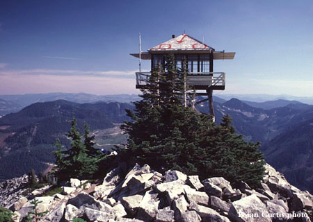 granite mtn fire lookout tower