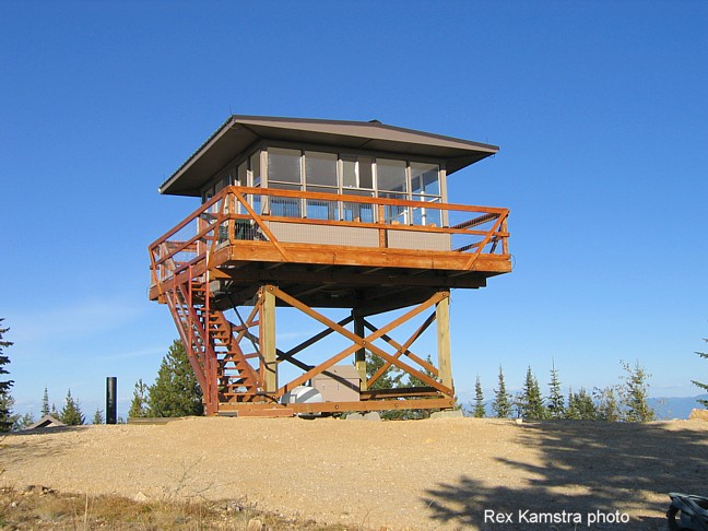 Any ideas on how to start building this fire lookout for Fire lookout tower plans