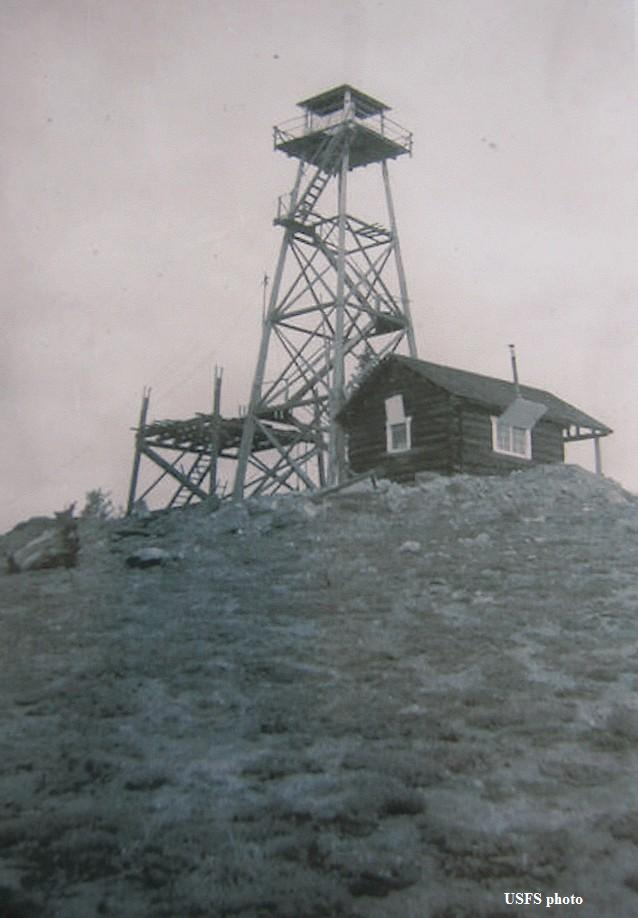 Chair Point Fire Lookout Tower
